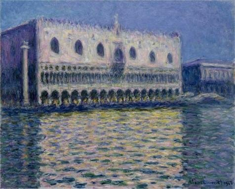 Oil Painting 'Palazzo Ducale, 1908 By Claude Monet', 16 x 20 inch / 41 x 51 cm , on High Definition HD canvas prints is for Gifts And Bed Room, Kitchen And Living Room Decoration, prints (Activ Energy Battery compare prices)