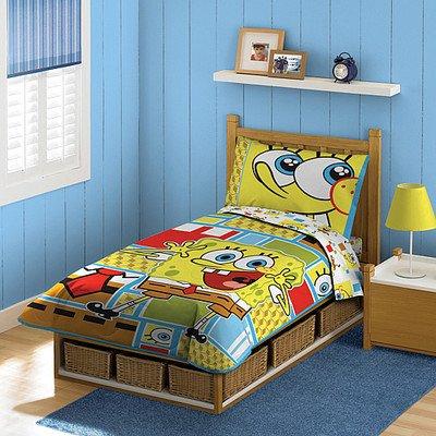 Spongebob Toddler Bedding Set 4438 front