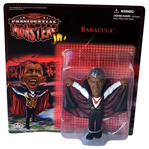 Presidential Monsters Jr. 4 Figure Baracula Obama as Dracula by Universal Monsters