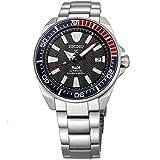 Seiko Men's Prospex Special PADI Edition Samurai Black Dial Stainless Steel Bracelet Watch - Model: SRPB99 (Color: Black)