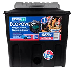 Hozelock 1348 Ecopower+ plus 5000 Pond Filter