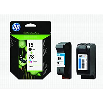 HP Ink Cart No 15+78 2Pack
