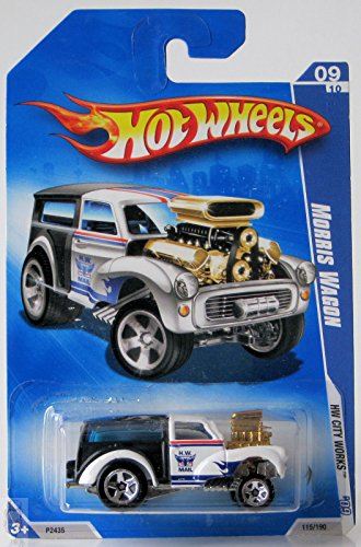 2009 Hot Wheels Hw City Works - Morris Wagon - 1