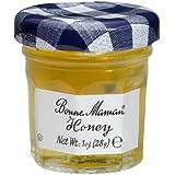 Bonne Maman Honey Mini Jars - 1 case, 60 jars, 1 oz each Kosher