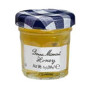 Bonne Maman Honey Mini Jars - 1 oz x 60 pcs Kosher