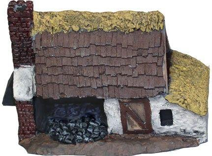 Terrain: 10mm Ancient - Blacksmith Workshop (2)