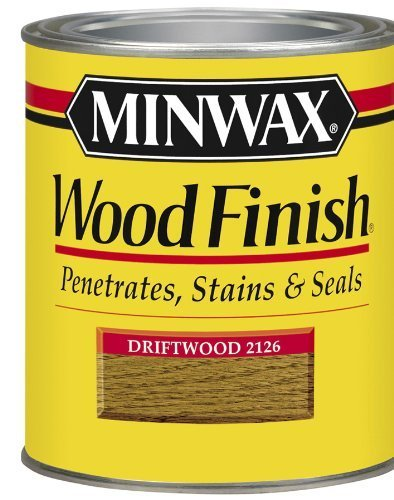 Comparamus minwax 22126 1 2 pint wood finish interior for Can you stain driftwood