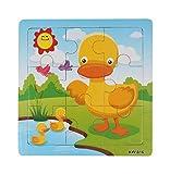 BlueSterCool De madera para niños de rompecabezas Juguetes para niños Educación y el aprendizaje Rompecabezas Juguetes (KW816)
