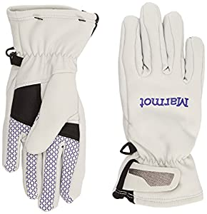 Marmot Women's Glide Soft Shell Gloves - Glacier Grey/Electric Blue, Small