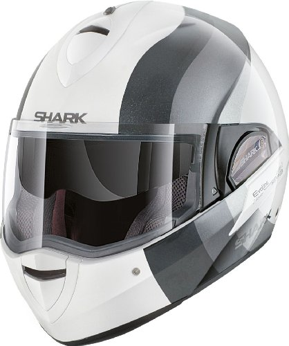 SHARK EVOLINE SERIE 2 WAYER weiss/dekor M