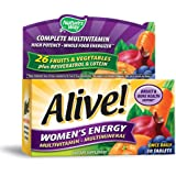 Alive Women's Energy Multivitamin-Multimineral Caffeine-Free 50 tabs