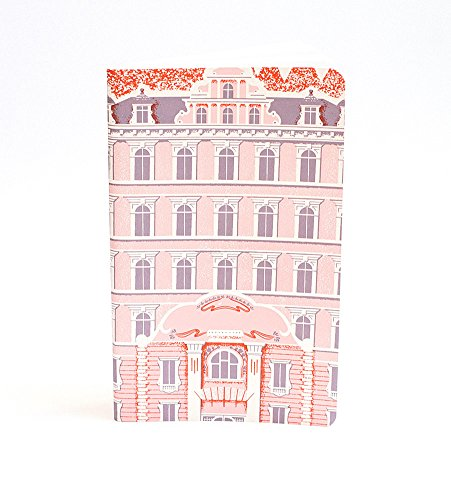 Scoutmob Art Grand Budapest Hotel Notebook (Grand Budapest Hotel Journal compare prices)