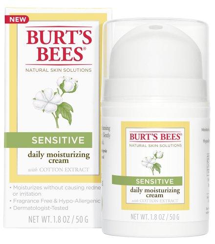 Burt's Bees Facial Care Sensitive Daily Moisturizing Cream 1