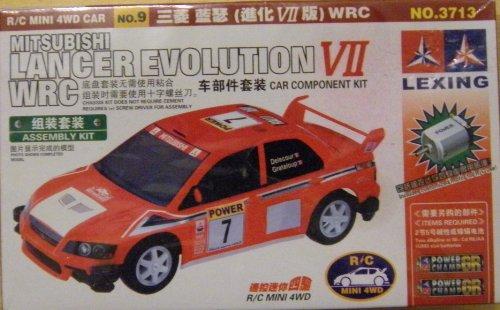 Mitsubishi Lancer Evolution VII WRC: Car Component Kit