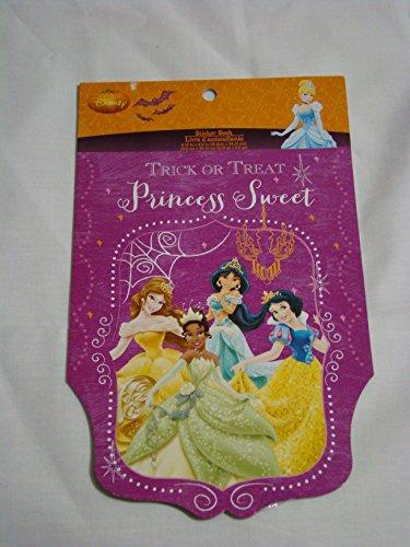 Disney Princess Halloween Sticker Book - Trick or Treat Princess Sweet - 1