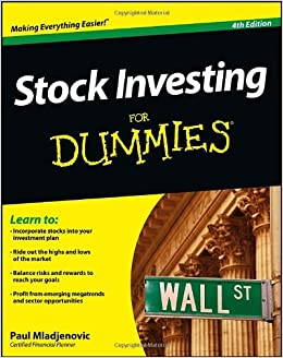 Stock options for dummies book