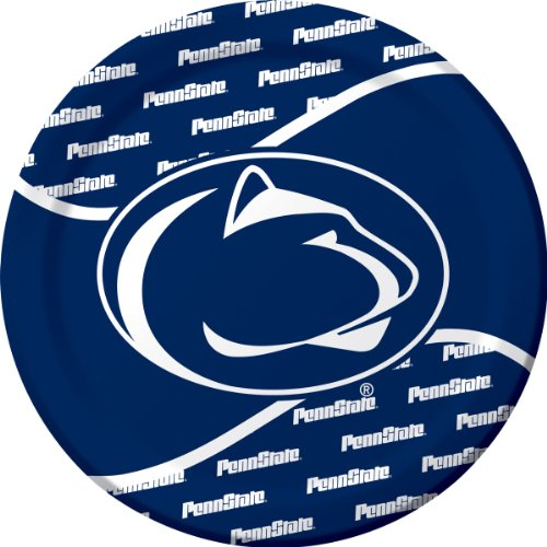 Creative Converting Penn State Nittany Lions Dinner Paper Plates (8 Count) front-547813