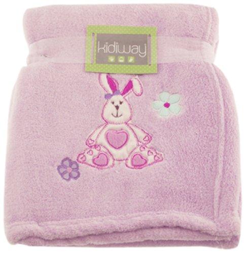 Kidiway Blanket, Pink Rabbit