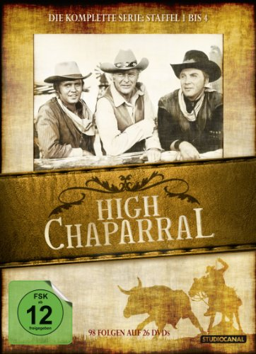 High Chaparral - Die komplette Serie [26 DVDs]