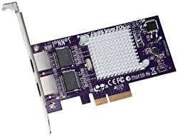Sonnet Technologies Presto Gigabit Ethernet Server 2-port PCIe Card