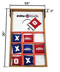 Junior Bean Bag Toss Game - Great for Outside Yard Kids Games - Tic Tac Toe and Cornhole Party Games for Kids.