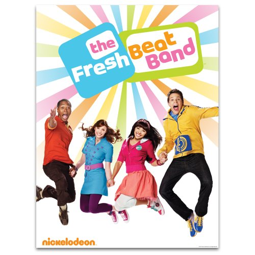 Fresh Beat Band: Jumping Cast Poster