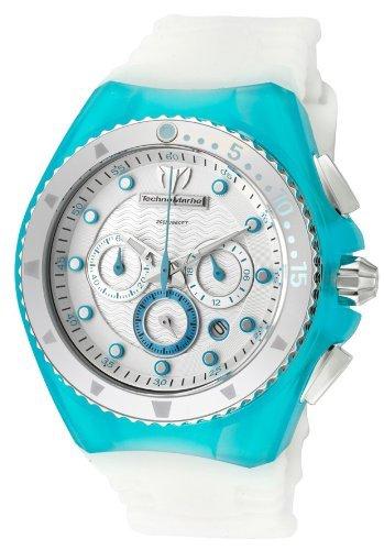 technomarine-damen-armbanduhr-chronograph-40-mm-cruise-beach-109014-turkis