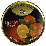 Cavendish & Harvey Fruit Tin - Orange, 5.3-Ounce (Tamaño: 3.5 Ounce)