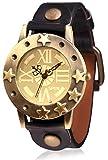 SPYN Unisex Star Fashion Casual wrist watch for Women Men Boys and Girls (black)