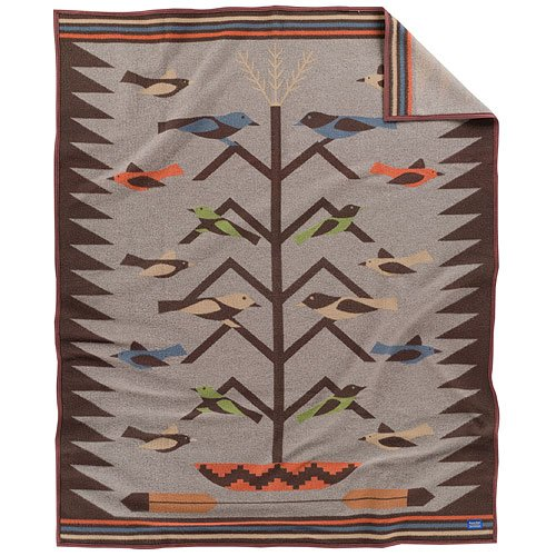 Tree of Life II: Pendleton Wool Blanket