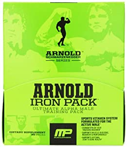 Muscle Pharm Arnold Schwarzenegger Iron Training Pack, 60 Count
