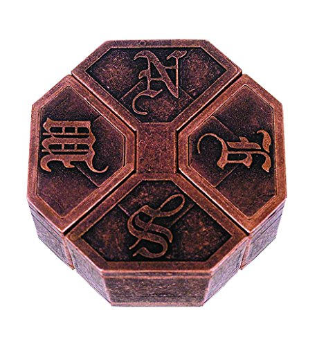 NEWS Hanayama Cast Metal Brain Teaser Puzzle (Level 6) - 1