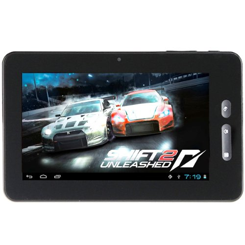 7 inch Android 4.0 OS Cortex A8 Capacitive Touch Screen Wi-Fi G-sensor Tablet PC, 512MB DDR3, 4GB built-in Capacity and Expandable Micro SD Card Slot, Support 3G Multi-language HDMI 1080P Flash 11.1