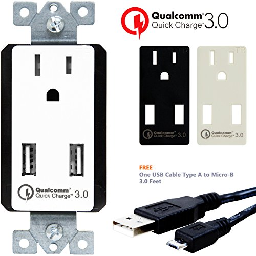 topgreener-tu1152qc3-quick-charge-30-dual-usb-wall-charger-outlet-2-qc30-ports-hub-for-lg-g5-htc-10-