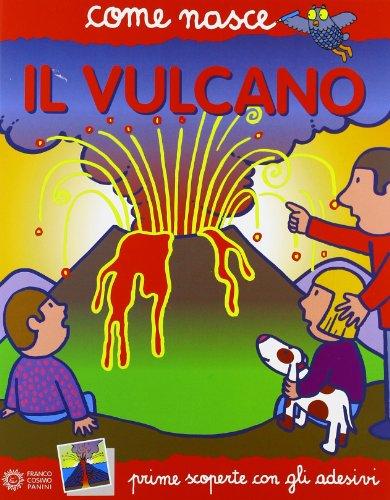 Il vulcano Con adesivi PDF