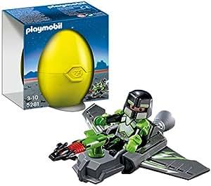 Playmobil - 5281 - Oeuf Jaune - Jet D'attaque Du Robo-gang