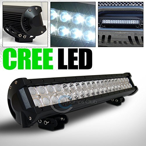 1PC 120W CREE LED LIGHT BAR SPOT FLOOD OFFROAD BULL GUARD ROOF BUMPER MOUNT GA1 (2000 Dodge Dakota Bull Bar compare prices)