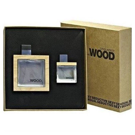 Dsquared² He Wood impostare EDT Spray 100 ml + 30 ml