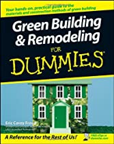 Free Green Building & Remodeling For Dummies Ebook & PDF Download