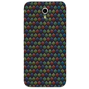 Multi Hexagon - Mobile Back Case Cover For Lenovo Zuk Z1