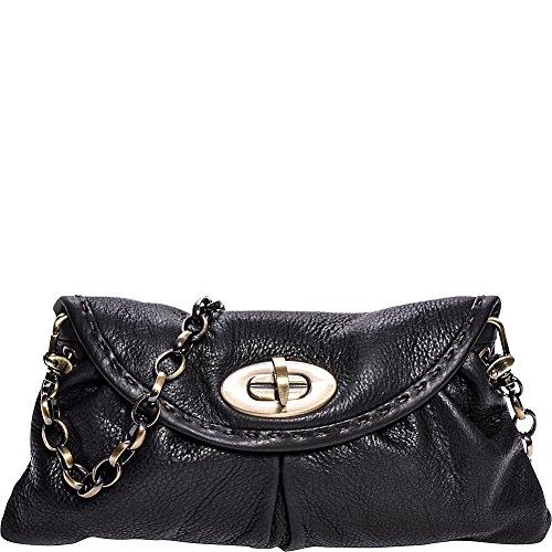 carla-mancini-ruched-mini-bag-clutch-black