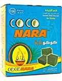 120 Pieces Coco Nara Natural Coconut Hookah Charcoal