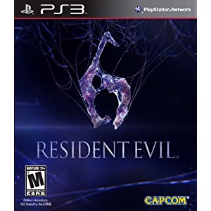 Resident Evil 6 PS3 Video Game