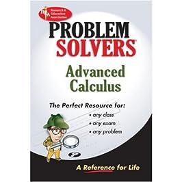 Advanced Calculus Problem Solver (REA) (Problem Solvers)