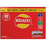 Walkers Crisps Variety Box 40 Packs