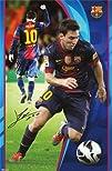 Lionel Messi  FC Barcelona Sports Poster