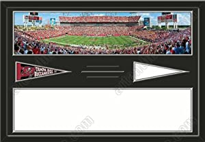 Tampa Bay Buccaneers Raymond James Stadium & Your Choice Of Stadium Panoramic... by Art and More, Davenport, IA