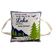 Lake Sentiment Pillow