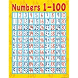 Teacher Created Resources Numbers 1-100 Chart, Multi Color (7645)