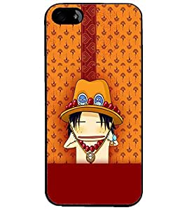 PrintDhaba Cartoon D-2626 Back Case Cover for APPLE IPHONE 5S (Multi-Coloured)